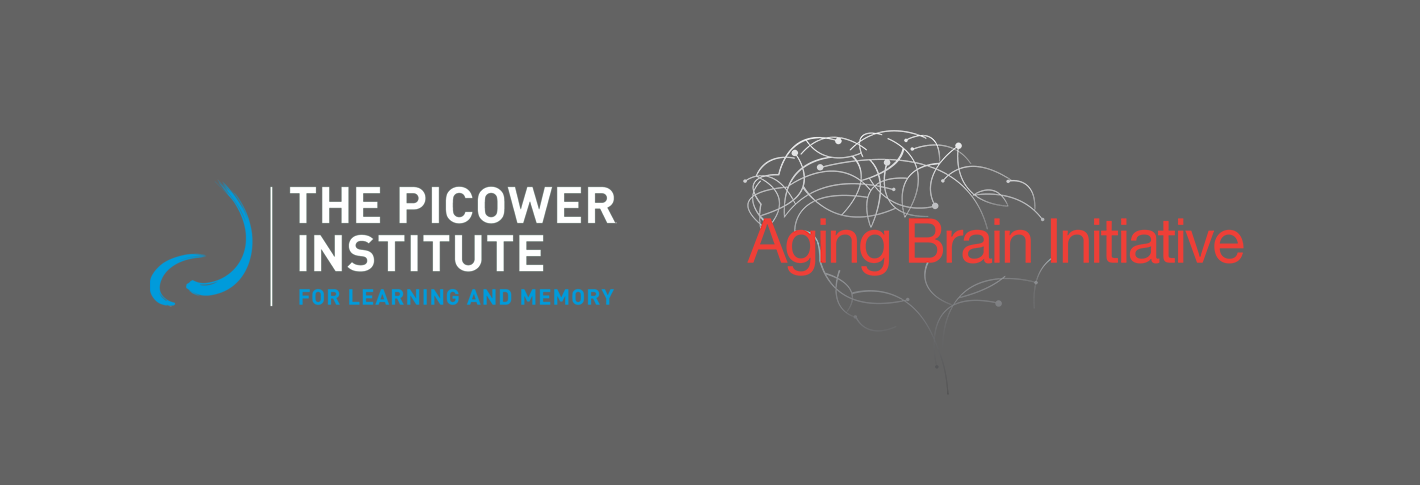 The Picower and Aging Brain Initiative logos